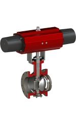 BFS Co., Ltd. Eccentric & V-Notch valve ER/VR-Series