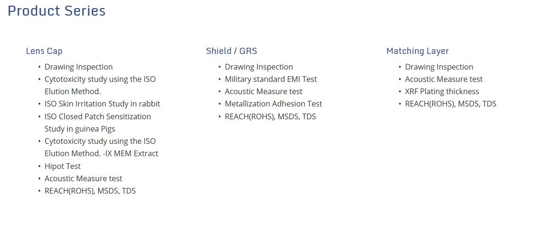 리노공업 Medical Equipment  4