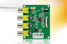 4Chanel NTSC/PAL Camera Interface Board
