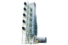Continuous,hybrid grain Dryer