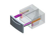 Refrigerator hinge/slide