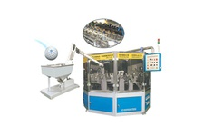 Automatic 6-Color Golfball Printing Servo Motor System
