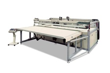 Screen Printing Machine for sliding table jumbo flat suface