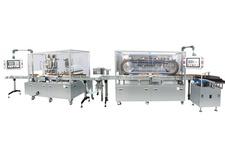 Automatic Rotary Liquid Filling Facility
