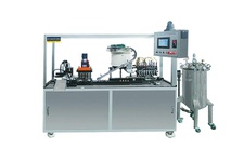 Bottle sample filling capping machine