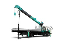 Auger Attached Crane