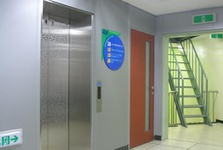 Fixed Steel Partition