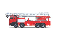 Ladder Fire Fight Truck