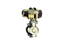 Water type high performance butterfly valve