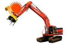 Scrap magnet for Excavator
