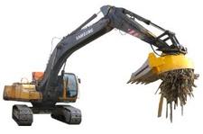 Scrap magnet for Excavator - Hybrid use