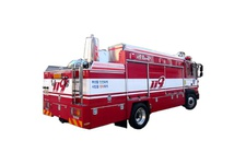 Poison Elimination Firefighting Vehicle