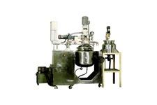 Vacuum Agi Homo Mixer
