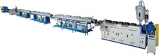 Single Screw Pipe Extrusion Line