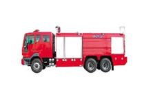 Chemical Fire Fighting Truck