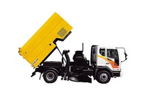 CNG Road Sweeper