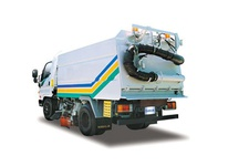 Road Sweeper (with Auxiliary Engine)