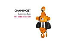 Chain Hoist (S, M, G, P TYPE)