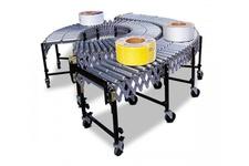 Steel Roller Type Flexible Conveyor (Double)