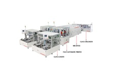 Turn Table Fully Automatic Screen Printing Line