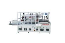 Dual Table Vision System Semi Automatic Screen Printing Machine