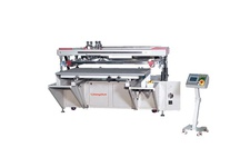 Large-Sized High Precision Four Post Screen Printing Machine
