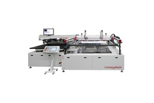 Vision System Large Sized Semi Automatic Screen Printing Machine