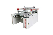 Four Post Semi Automatic Screen Printing Machine