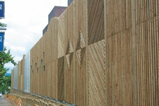 Wood Sound Proofing Wall
