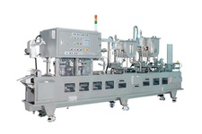 Intermittent Automatic Tray Sealing M/C