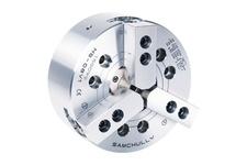Standard 3-Jaw High-Speed Open-Center Chuck