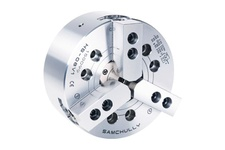 3-Jaw High-Speed Open-Center Chuck with Adaptor