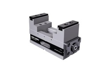 Self centering 5-Axis vise