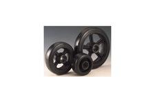 Rubber Tread Cast Iron Center Wheels