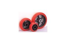 Polyurethane Tread Cast Iron Center Wheels