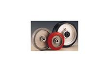 Rubber / P.U Tread Aluminum Center Wheels