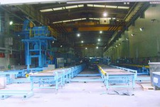 Horizontal Type & Section, Steel Descaling M/C