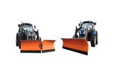 Front loader type, Butterfly snowplow