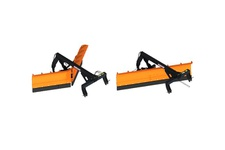 3 point linkage type, Butterfly snowplow