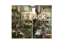 Rotary Type 1 Lane Ice Pack Packaging Machine