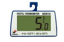 쇼케이스용 디지털방수 온도계