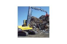 Excavator Material Handler