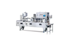 Continuous Cup/Tray Sealing Machine (Continuous Motion Operation)