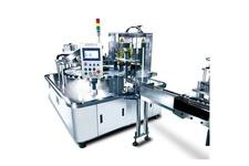 Semi-Automatic Rotary Nail Polish Filling & Packing Machine