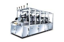 High speed automatic Multi colored dry powder press machine
