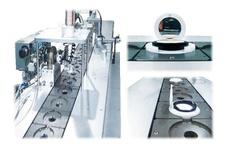 Automatic powder product assembling machine