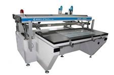 Large-sized Semi Automatic Screen Printing Machine