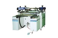 Four Post Semi Automatic Screen Printing Machine