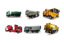 Special purpose Armroll truck, Runway Sweeper, Combined Sewer Cleaner, Vacuum