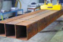 Electro-permanent Lifting Magnet for Square Pipe